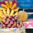 Stock Photo: Tropical fruit in market