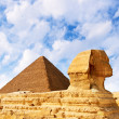 The Sphinx in Egypt — Stock Photo #3924224
