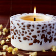 Aromatherapy candle — Photo