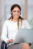 Customer operator — Stock Photo