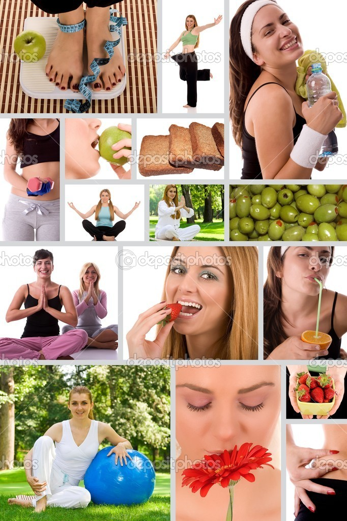 Healthy lifestyle concept.  Stock Photo #3974315