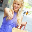 Shopping woman — Stock Photo #4056557