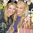 Shopping friends - Stock Photo