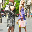 Shopping woman — Foto de Stock