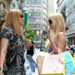 Foto Stock: Shopping woman