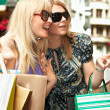 Shopping woman - Foto Stock