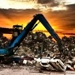 Car recycling - Stockfoto