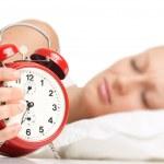 Спящая женщина — Стоковое фото