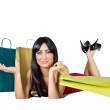 Shopping woman — Stock Photo #4854365