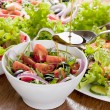 Stock Photo: Fresh salad