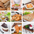 Stock Photo: Different food composition