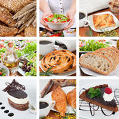 Different food composition — Stock Photo