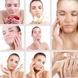 Spa woman collage — Stock Photo