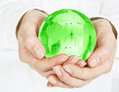 Care about planet — Stock Photo