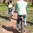Couple on bike — Stock Photo #5319172