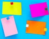 Kolor notatki — Zdjęcie stockowe