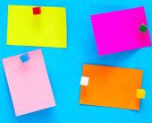 Kleur notities — Stockfoto