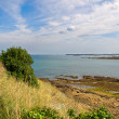 Stock Photo: The sea near Saint Malo in Brittany, France
