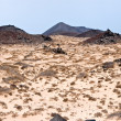 Island of Los Lobos, Fuerteventura, Canary Islands, Spain - Stock Photo