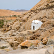Stock Photo: White chapel in Fuerteventura, Canary Islands, Spain