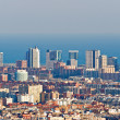 Modern buildings in Barcelona — Stock Photo