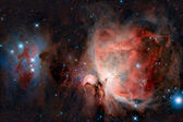Great Orion Nebula — Stock Photo