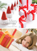 Collage - Christmas — Stock Photo