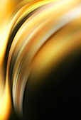 Abstract yellow and black background. Space for text isolated on — Stock Photo