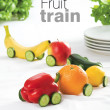 Royalty-Free Stock Photo: Fruit train
