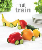 Fruit train — Stock Photo