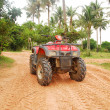 Quad bike — Stock Photo #5267936