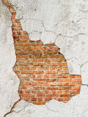墙和孔 — 图库照片