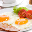 Royalty-Free Stock Photo: Breakfast with fried egg