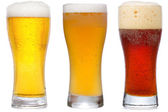 Glasses of Beer — Stock Photo