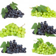Set with grape — Stock Photo #5167797