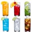 Set with different cocktails — Stock Photo #5167801