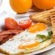 Fried eggs — Stock Photo #5167899