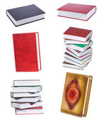 Set with books — Stock Photo