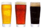 Okulary z piwem — Zdjęcie stockowe
