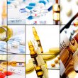 Royalty-Free Stock Photo: Pills collage 2
