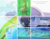 Collage de la technologie — Photo