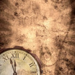 Time grunge background - Stock Photo