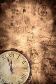 Time grunge background — Stock Photo