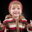 Funny little boy portrait — Stock Photo #4933265