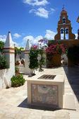 Paleokastritsa monastery — Stock Photo