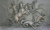 Zeus relief — Stock Photo