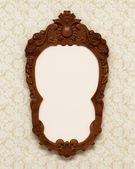 Antique carved frame — Stock Photo