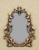 Bronze frame — Stock Photo