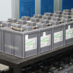 Set of battery — Stock Photo