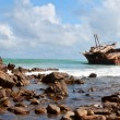 Stock Photo: Aghullas shipwreck